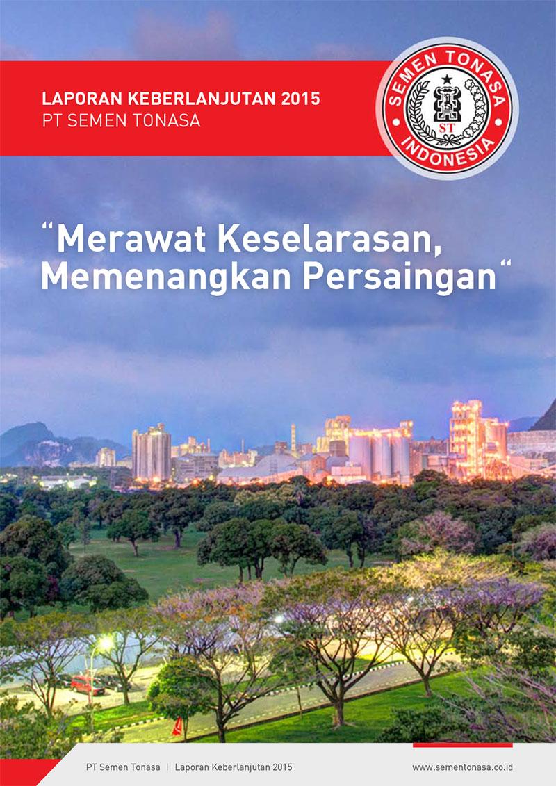 Desain Buku Laporan CSR Semen Tonasa 2015