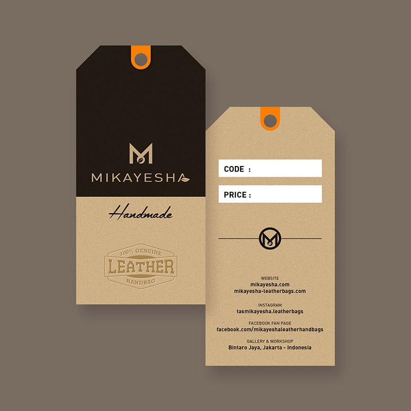 Desain Hang Tag Mikayesha