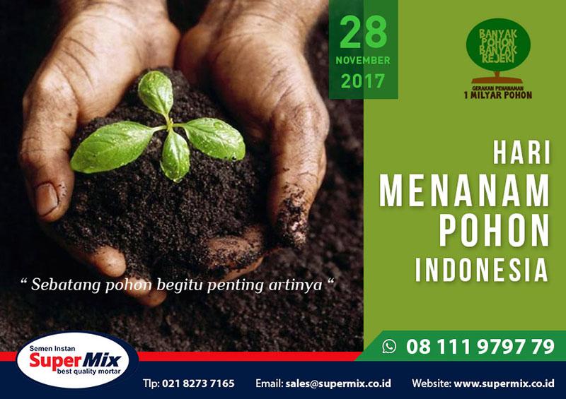 Desain Poster Hari Menanam Pohon Indonesia