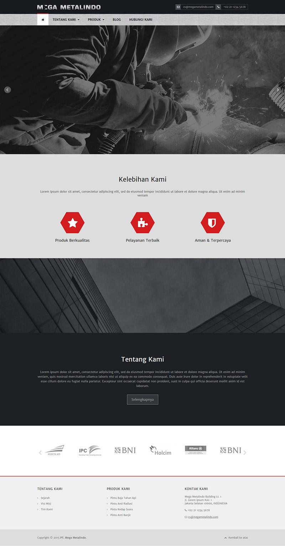 Desain Template Web Compro