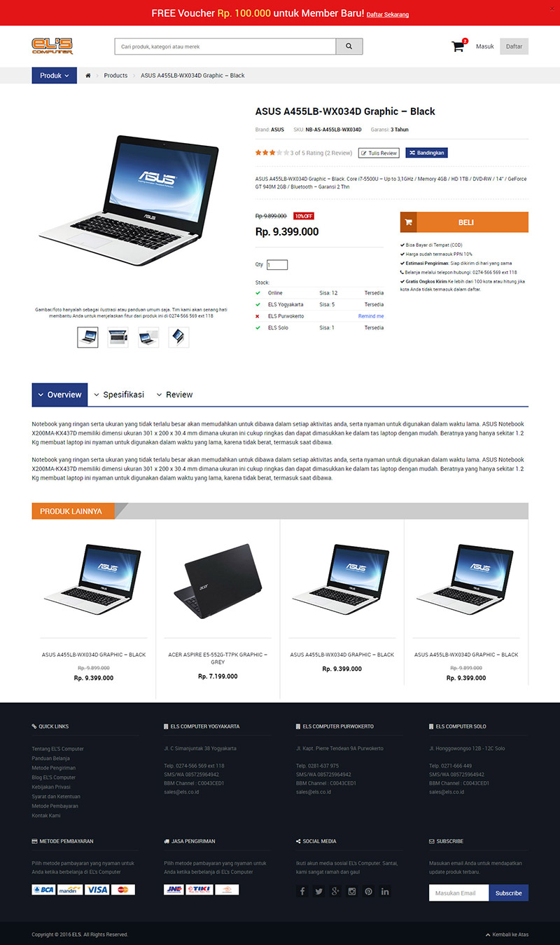 Konsep Desain Web ELS