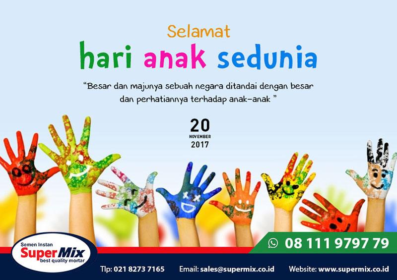 Desain Poster Hari Anak Sedunia